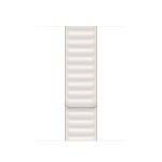 Apple MJKE3ZM/A smartwatch accessory Band Weiß Leder