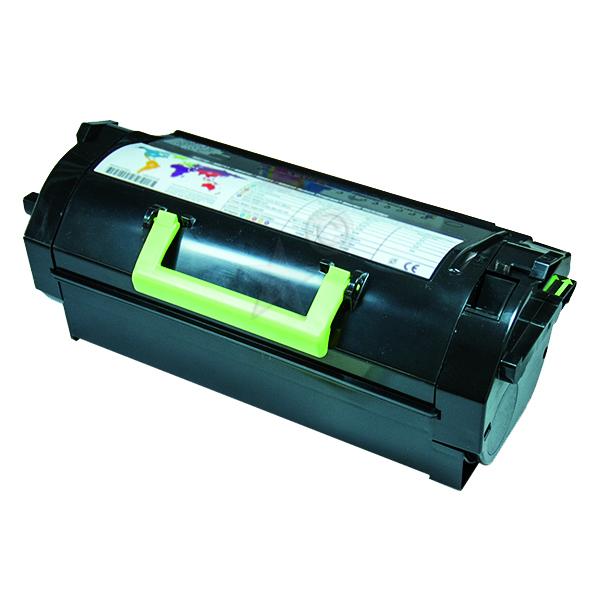 Remanufactured Lexmark 52D2X00 Black Toner Cartridge