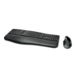 Kensington ProFit Ergo keyboard RF Wireless + Bluetooth QZERTY Spanish Black