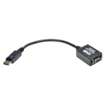 Tripp Lite DisplayPort to VGA Active Cable Adapter, 1920x1200/1080p (M/F), 15.24 cm (6-in.)