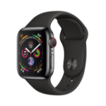 Apple Watch Series 4 smartwatch Black OLED Cellular GPS (satellite)