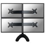 Neomounts by Newstar FPMA-D700DD4 Flat panel Tischhalter 76,2 cm (30 Zoll) Schwarz