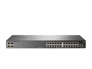 Hewlett Packard Enterprise Aruba 2540 24G 4SFP+ Managed network switch L2 Gigabit Ethernet (10/100/1000) 1U Grey
