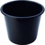 Deflecto CP025YTBLK waste basket