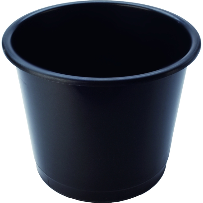 Deflecto CP025YTBLK 14L Polypropylene (PP) Black waste basket