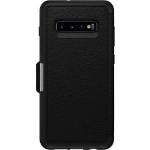 OtterBox Strada Folio mobile phone case 16,3 cm (6.4 Zoll) Geldbörsenhülle Schwarz