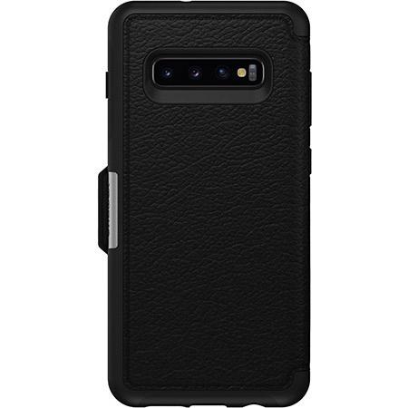 OtterBox Strada Folio Series para Samsung Galaxy S10+, negro