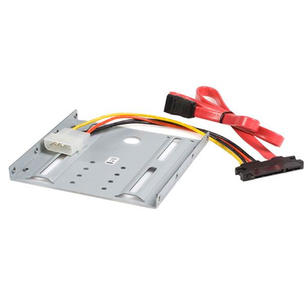 StarTech.com 2.5in SATA Hard Drive to 3.5in Drive Bay Mounting Kit BRACKET25SAT