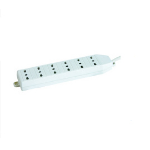 Microconnect GRU0063WIT power extension 3 m 6 AC outlet(s) White