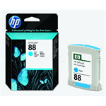 HP C9386AE (88) Ink cartridge cyan, 860 pages, 10ml