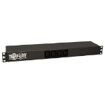 Tripp Lite 1.6–3.8kW Single-Phase 100–240V Basic PDU, 14 Outlets (12 C13 & 2 C19), C20 w/L6-20P Adapter, 3.66 m Cord, 1U Rack-Mount