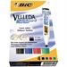 BIC Velleda Whiteboard Marker 1701 Bullet tip Black,Blue,Green,Red 4pc(s) marker