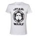 Star Wars Adult Male Stormtrooper Helmet Emblem T-Shirt, Large, White (TS080701STW-L)