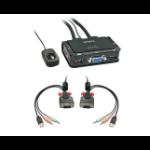 Lindy 42342 KVM switch Black