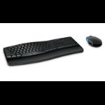 Microsoft Sculpt Comfort Desktop Tastatur RF Wireless QWERTZ Deutsch Schwarz