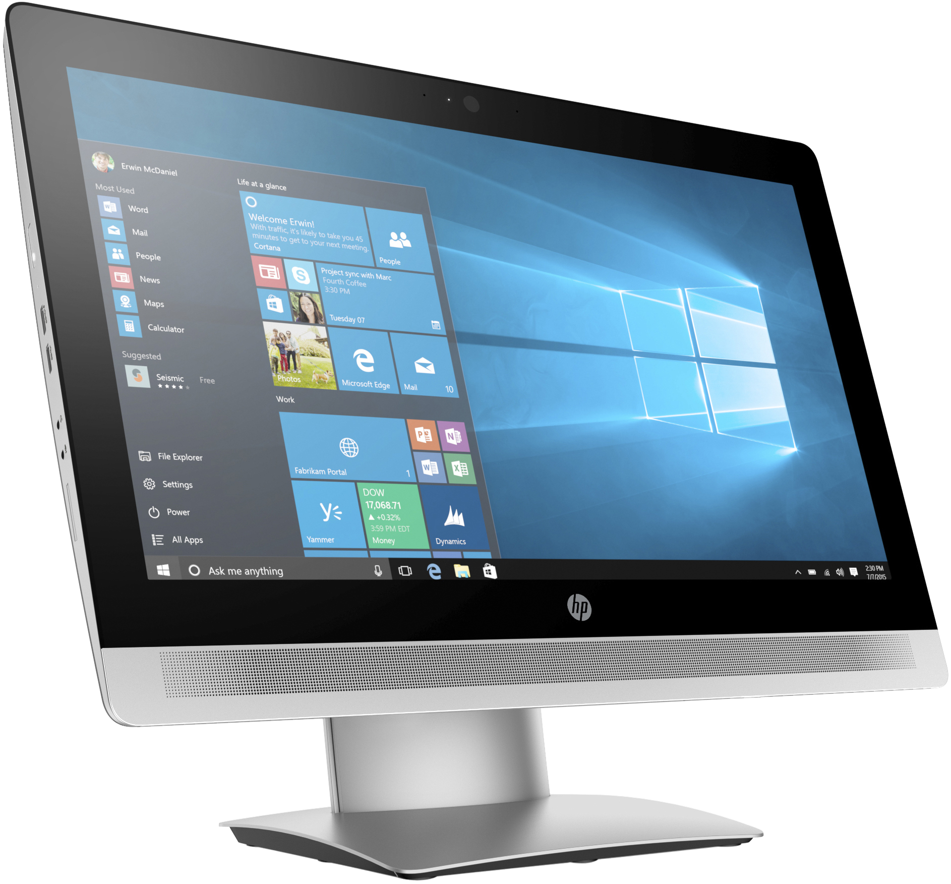 """HP ProOne 600 G2 54,61 cm (21.5"""") Non-Touch All-in-One PC (ENERGY STAR)"""