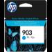 HP Cartucho de tinta Original 903 cian