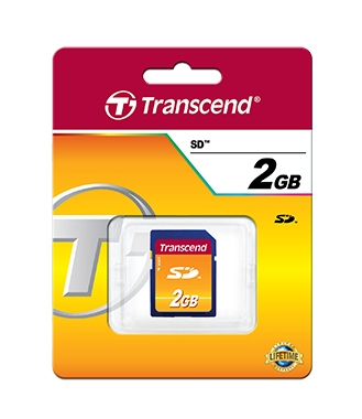 Transcend 2GB Secure Digital Card