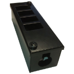 Cablenet 4 Way POD Box Horizontal Row LJ6c 56mm Deep 25mm Entry