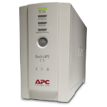 APC BK350 Back-UPS CS 350VA Beige uninterruptible power supply (UPS)