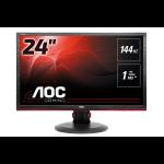 """AOC Gaming G2460PF pantalla para PC 59,9 cm (23.6"""") Full HD LED Plana Mate Negro"""