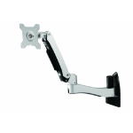 Amer AMR1AWL monitor mount / stand Black, Silver