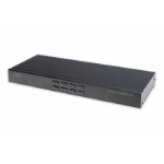 Digitus DS-23200-2 KVM switch Rack mounting Black