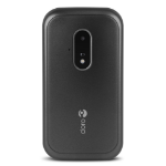 "Doro 7030 7.11 cm (2.8"") 124 g Black, White Feature phone"