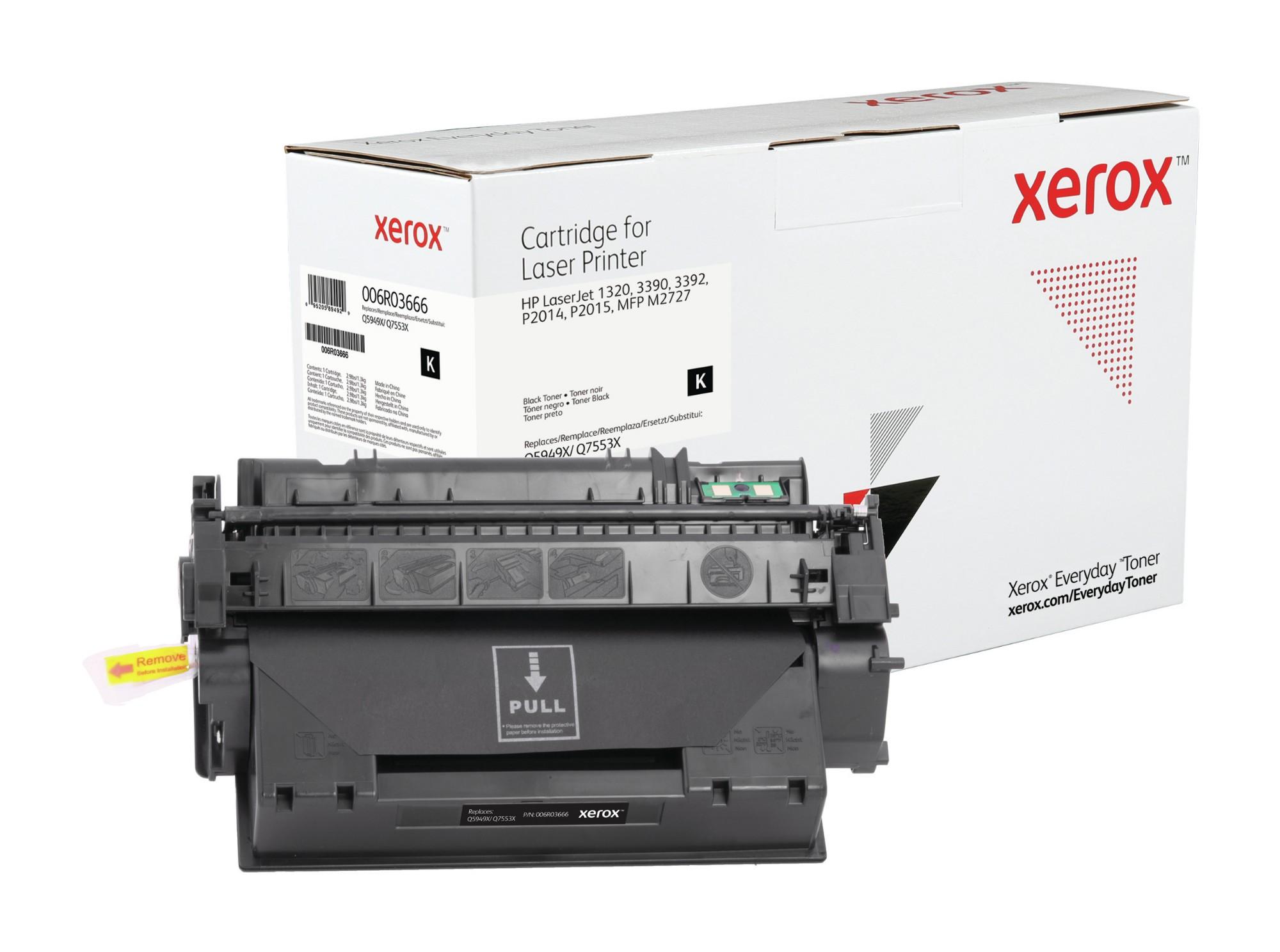 Xerox Tóner de Rendimiento estándar Negro Everyday, HP Q5949X/ Q7553X equivalente de , 6000 páginas