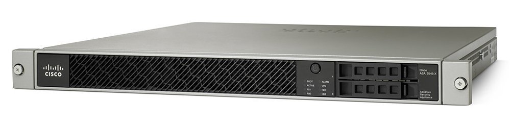 Cisco ASA 5545-X 1U 15000Mbit/s hardware firewall
