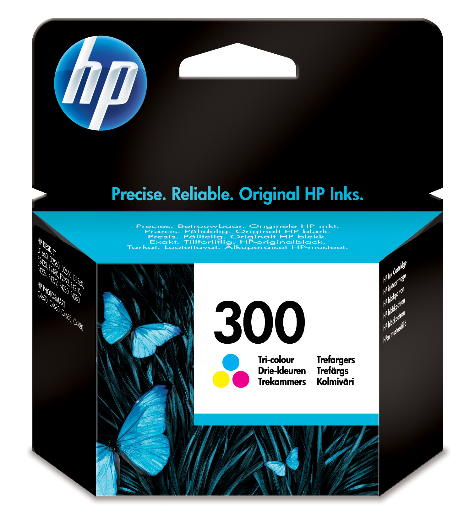 HP 300 Tri-color Ink Cartridge Original Cian, Magenta, Amarillo 1 pieza(s)