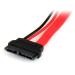 StarTech.com 6in Slimline SATA to SATA Adapter with Power - F/M SLSATAADAP6