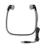 Philips LFH0234 Intraaural Neck-band Black headphone