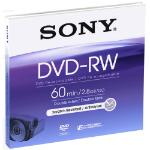 SONY DVD-RW 8CM 2.8GB 60 MINUTES LPI NO