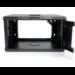 StarTech.com 6U 19in Wallmount Server Rack Cabinet with Acrylic Door RK619WALLGB