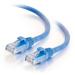 C2G Cable de conexión de red LSZH UTP, Cat6A, de 0,5 m - Azul