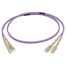C2G 30M SC/SC OM4 LSZH FIBRE PATCH - VIOLET fiber optic cable