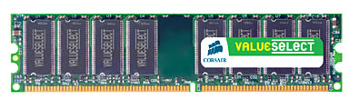 Corsair 4GB DDR2-800 Value Select Memory Kit 4GB DDR2 400MHz memory module