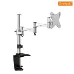 Brateck Single Flexi Arm Monitor Mount Up to 27""