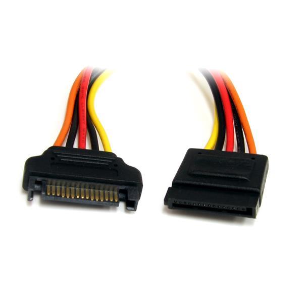 StarTech.com 30cm 15-pins SATA Verlengkabel Voeding
