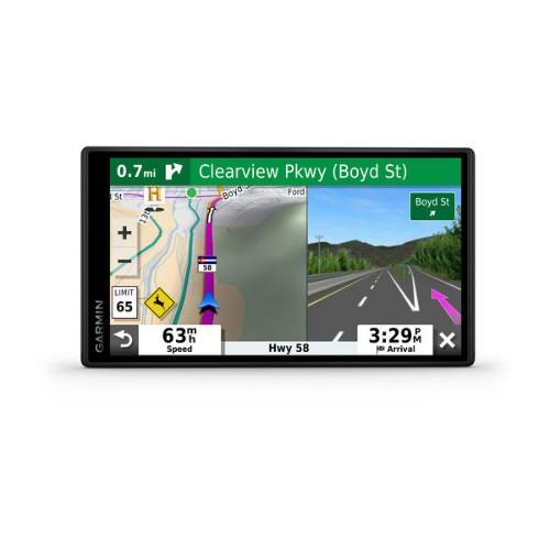 """Garmin DriveSmart 55 EU MT-D navigator 14 cm (5.5"""") Touchscreen TFT Fixed Black 151 g"""