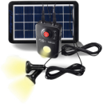PowerWalker Solar PowerBank power bank Lithium-Ion (Li-Ion) 4.4 mAh Black