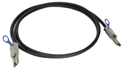 Broadcom CBL-SFF8088SAS-20M Serial Attached SCSI (SAS) cable 2 m Black
