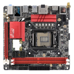 Asrock FATAL1TY Z170 GAMING-ITX/AC, Intel Z170, 1151, Mini ITX, DDR4, AC Wi-Fi, Btooth, USB 3.1, RAID