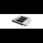 ICY BOX IB-AC650 SSD enclosure Black,Silver