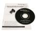 StarTech.com USB 150Mbps Mini Wireless N Network Adapter - 802.11n/g 1T1R USB150WN1X1