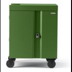 Bretford Cube Cart Portable device management cart Green