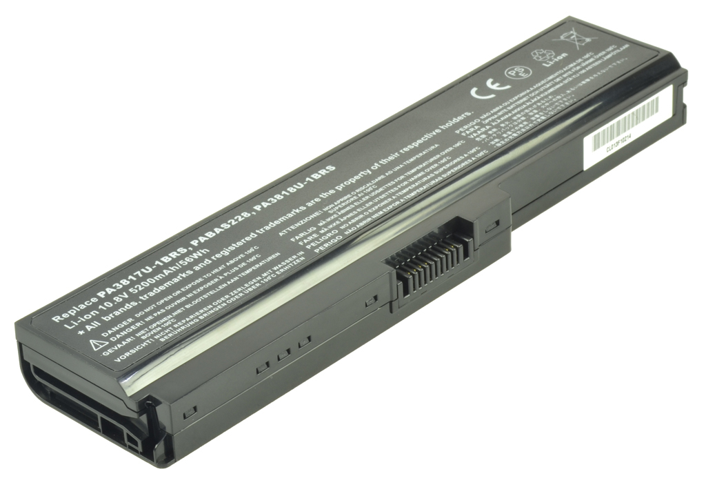 2-Power 10.8v, 6 cell, 56Wh Laptop Battery - replaces A000075230