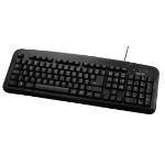 Hama 73057209 keyboard USB QWERTY English Black