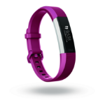 Fitbit Alta HR OLED Pulsera de actividad Fucsia, Acero inoxidable